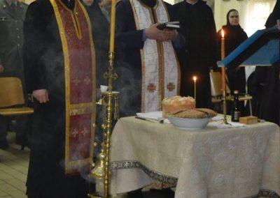 45-Rezanje slavskog kolaca kasarna Raska 2017