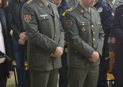 46-Rezanje slavskog kolaca kasarna Raska 2017