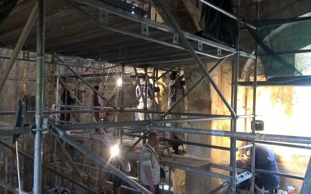 Рестурација  и конзервација у манастиру Градац
