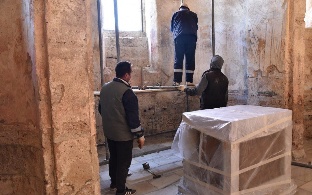 Почетак радова на конзервацији и рестаурацији фресака у олтару Богордичине цркве