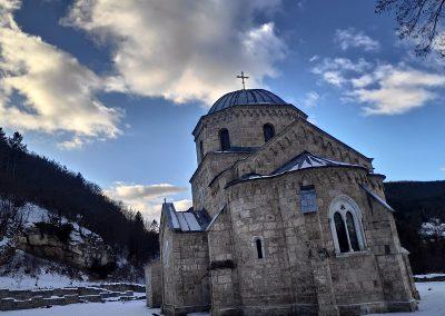 Badnje vece u manastiru Gradac 2020 01