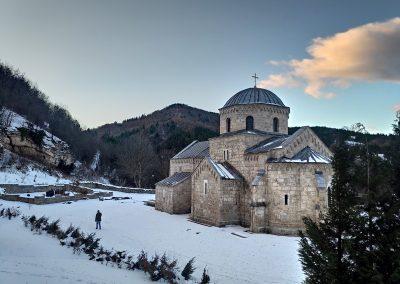 Badnje vece u manastiru Gradac 2020 03
