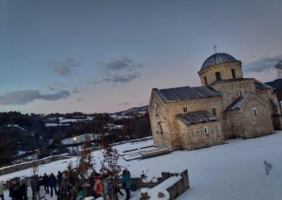 Badnje vece u manastiru Gradac 2020 04