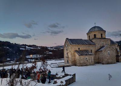 Badnje vece u manastiru Gradac 2020 05