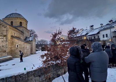 Badnje vece u manastiru Gradac 2020 08