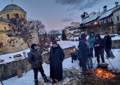 Badnje vece u manastiru Gradac 2020 10