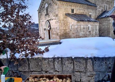 Badnje vece u manastiru Gradac 2020 12