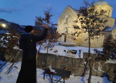 Badnje vece u manastiru Gradac 2020 23